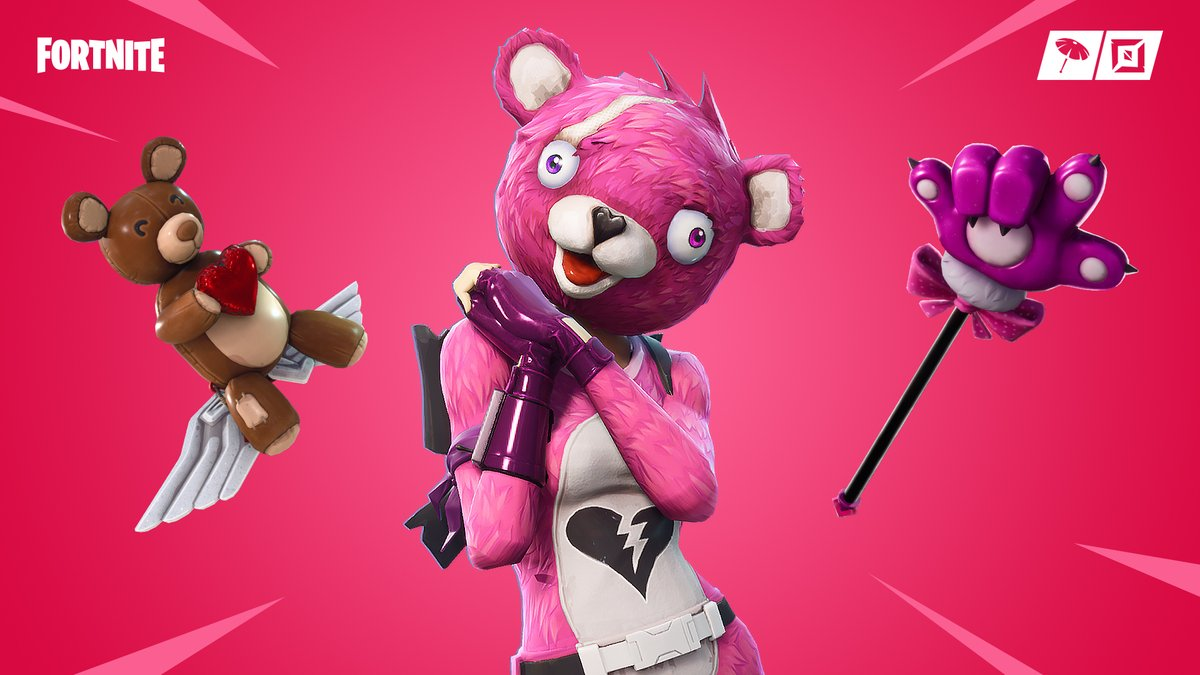 Fortnite Wallpaper Cuddle Team Leader Outfit Royale Hearts Set