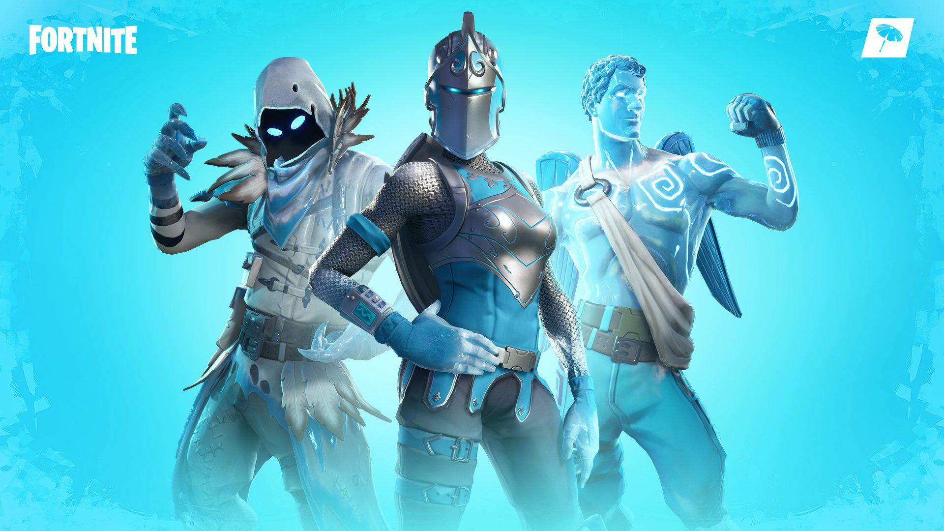 Fortnite Wallpaper Frozen Legends Pack Set