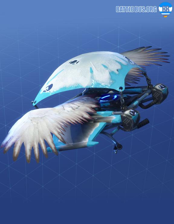 Frozen Feathers Glider Fortnite Frozen Legends Set