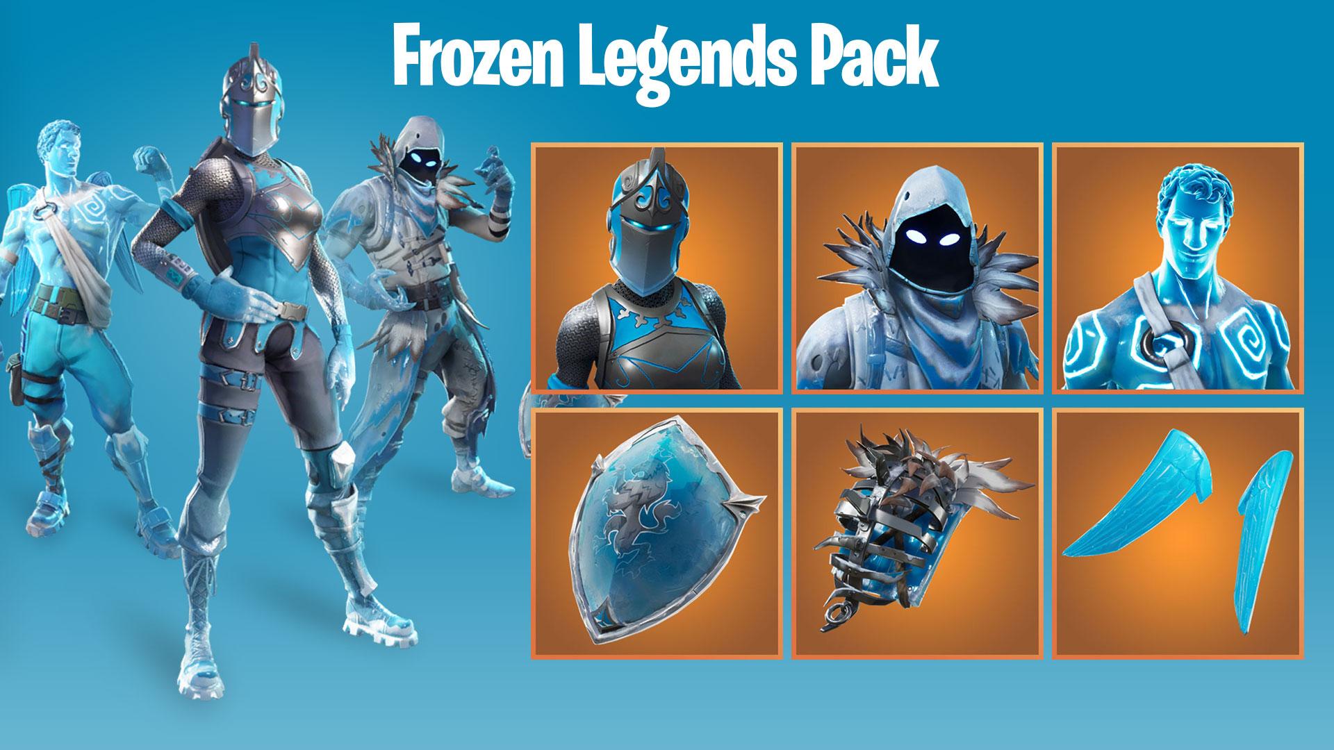 Frozen Legends Pack Set