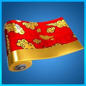 Fortnite Wrap Golden Clouds
