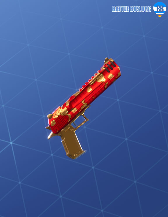 Golden Clouds Wrap Hand Cannon