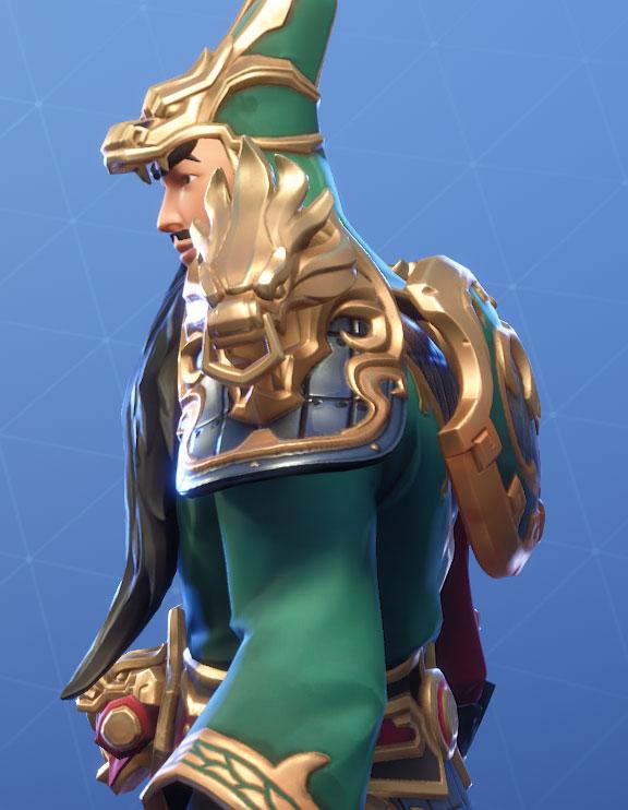 Guan Yu Back Bling Loyal Shield Fortnite
