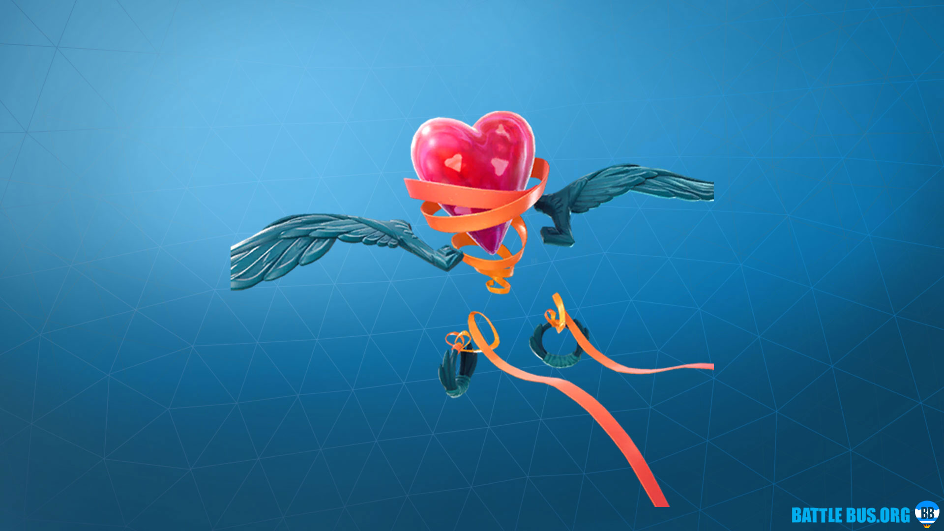 Heartspan Glider Fortnite Royale Hearts Set