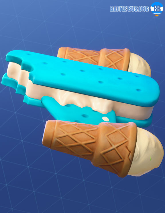 Ice Cream Cruiser Glider Fortnite Lil Whip Two Scoops