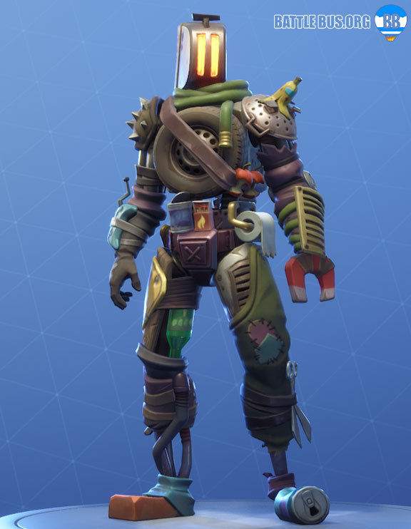 Kitbash Outfit Fortnite Boneyard Set