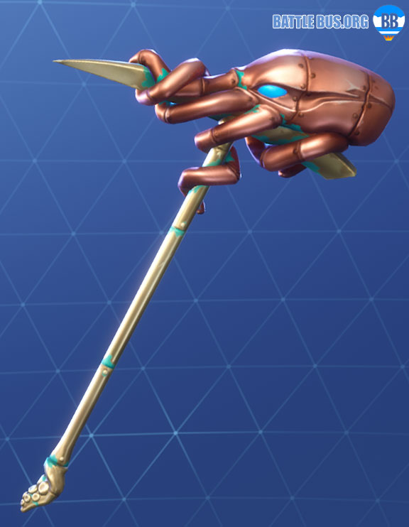 Krakenaxe Pickaxe Fortnite Deep Sea Set