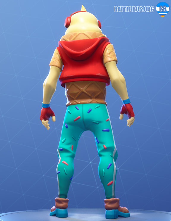 Lil Whip Outfit Fortnite Two Scoops Set