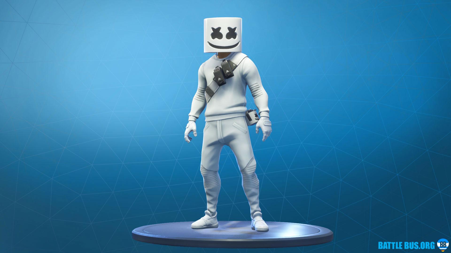 Marshmellow Outfit Fortnite Marshmellow Set