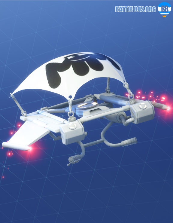 Mellow Rider Glider Marshmellow Set Fortnite