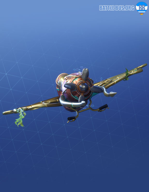 Nautilus Glider Fortnite Deep Sea Set