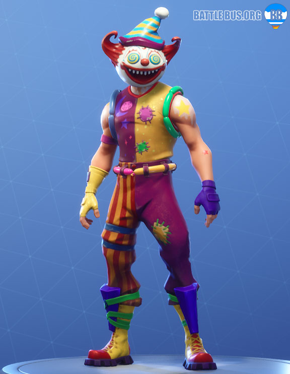Nite Nite Outfit Fortnite Clown Party Parade Set
