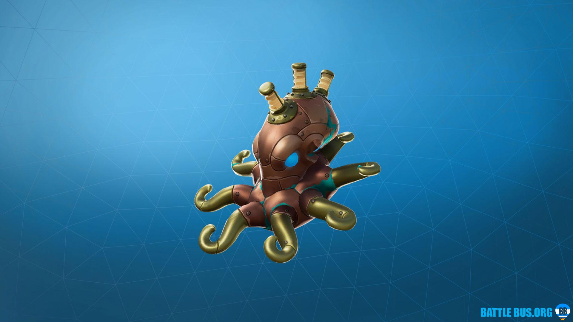 Octotank Back Bling Deep Sea Dominator Fortnite Epic Dominator