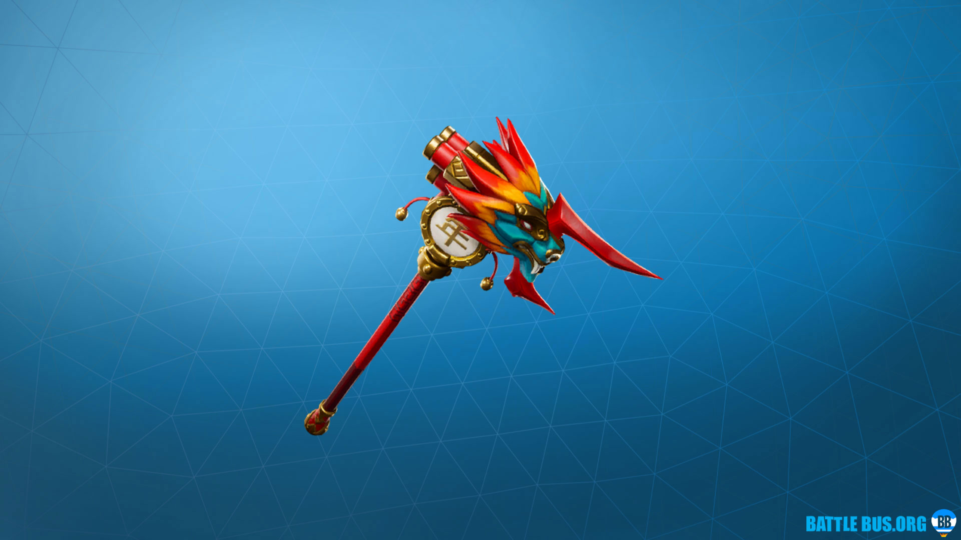 Outburst Pickaxe Fortnite Firewalker
