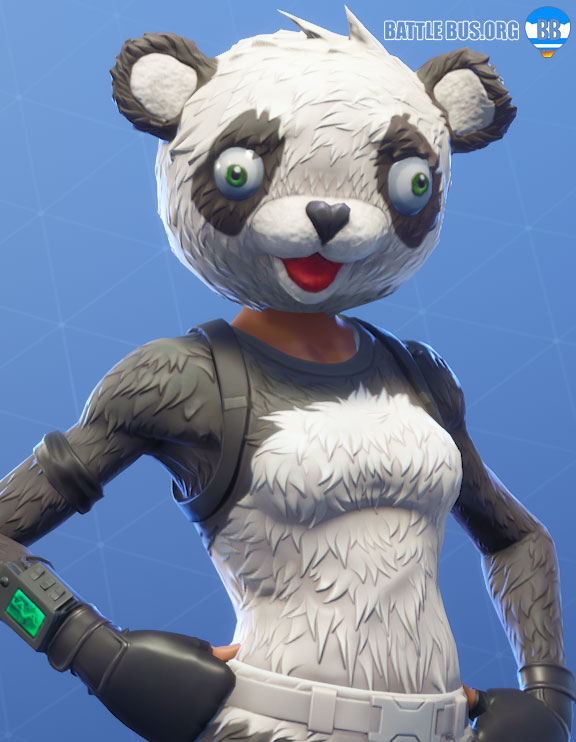 Panda Team Leader Outfit Fortnite