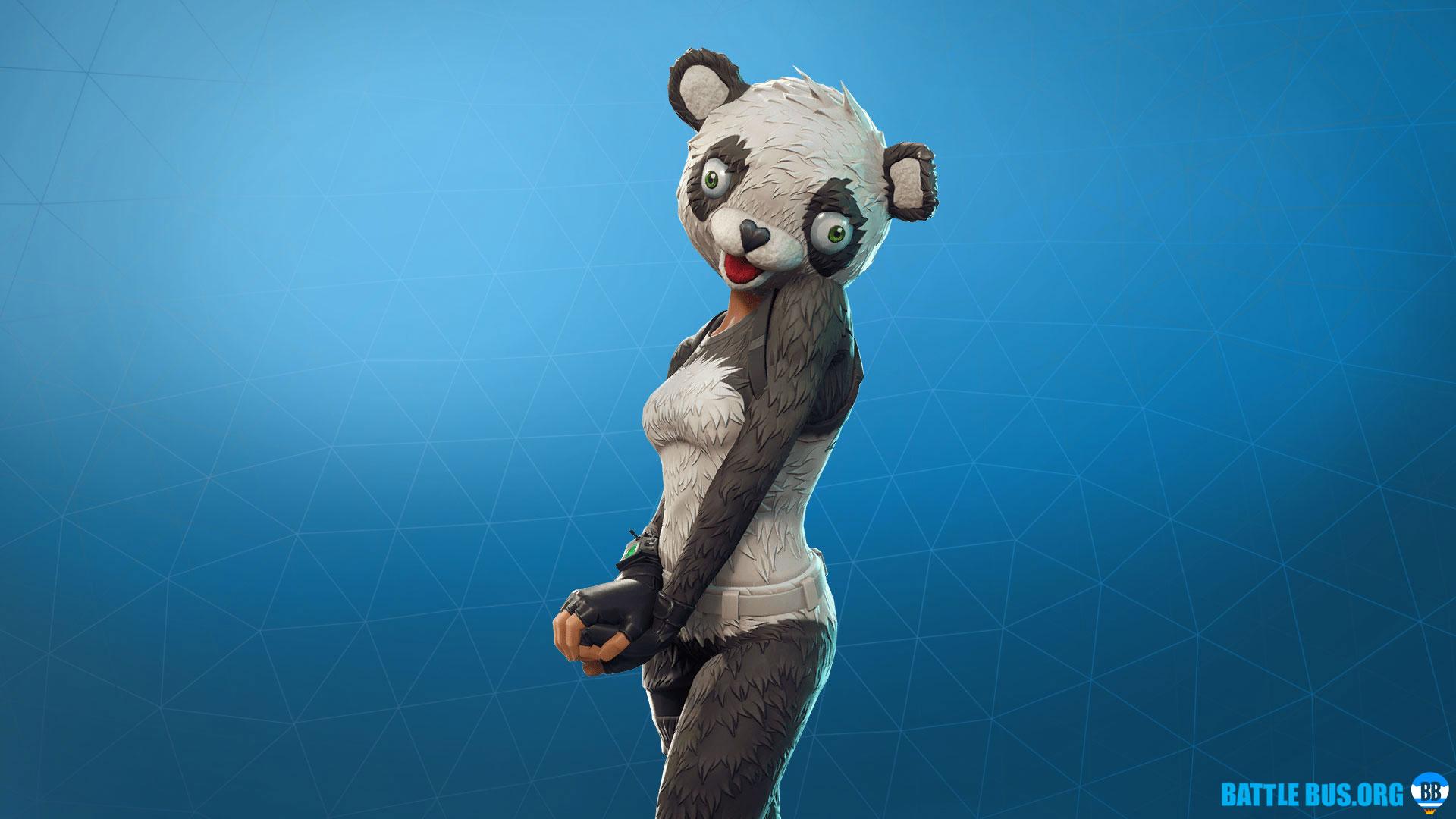 Panda Team Leader Outfit Fortnite