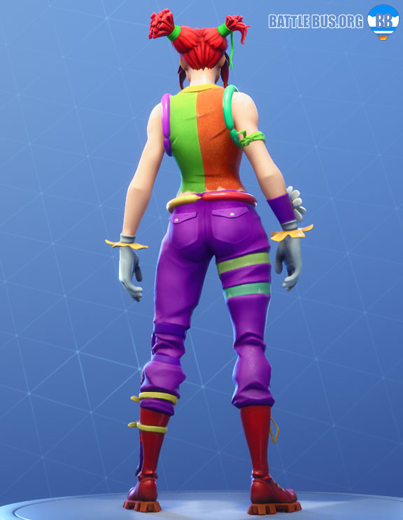 Peekaboo Outfit Fortnite Clown Party Parade Set
