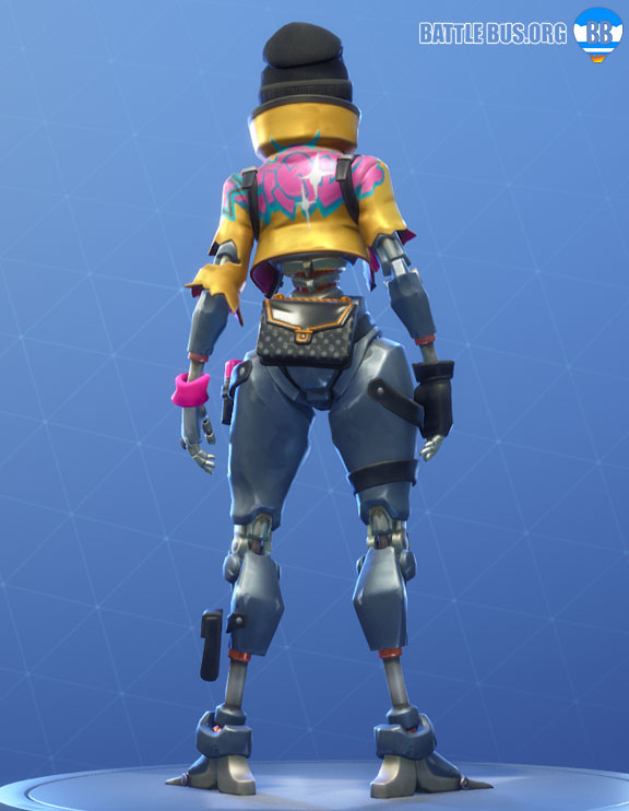 Rebel Outfit Fortnite Robo Rebels Set