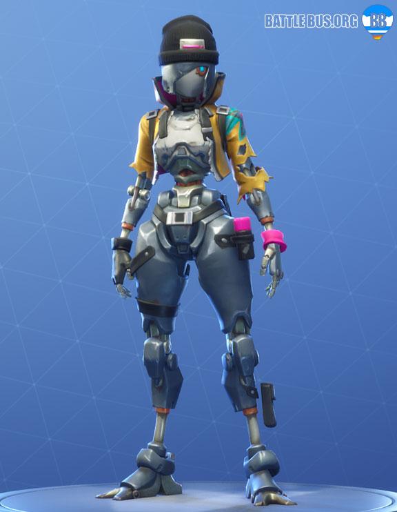 Rebel Outfit Fortnite Robo Rebels Set
