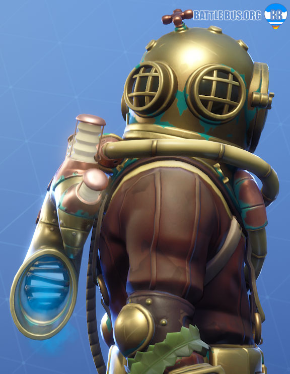 Rebreather Back-Bling Deep Sea Destroyer Fortnite Destroyer