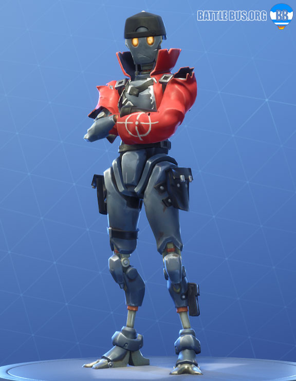 Revolt Outfit Fortnite Robo Rebels Set