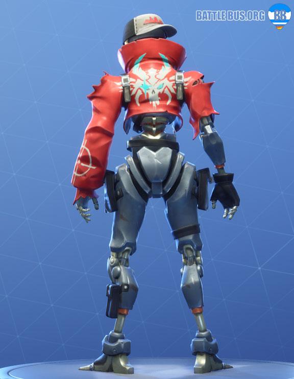 Revolt Outfit Fortnite Robo Rebels Set