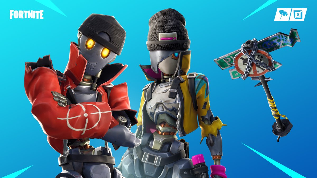Robo Rebels Outfit Revolt Rebel Fortnite