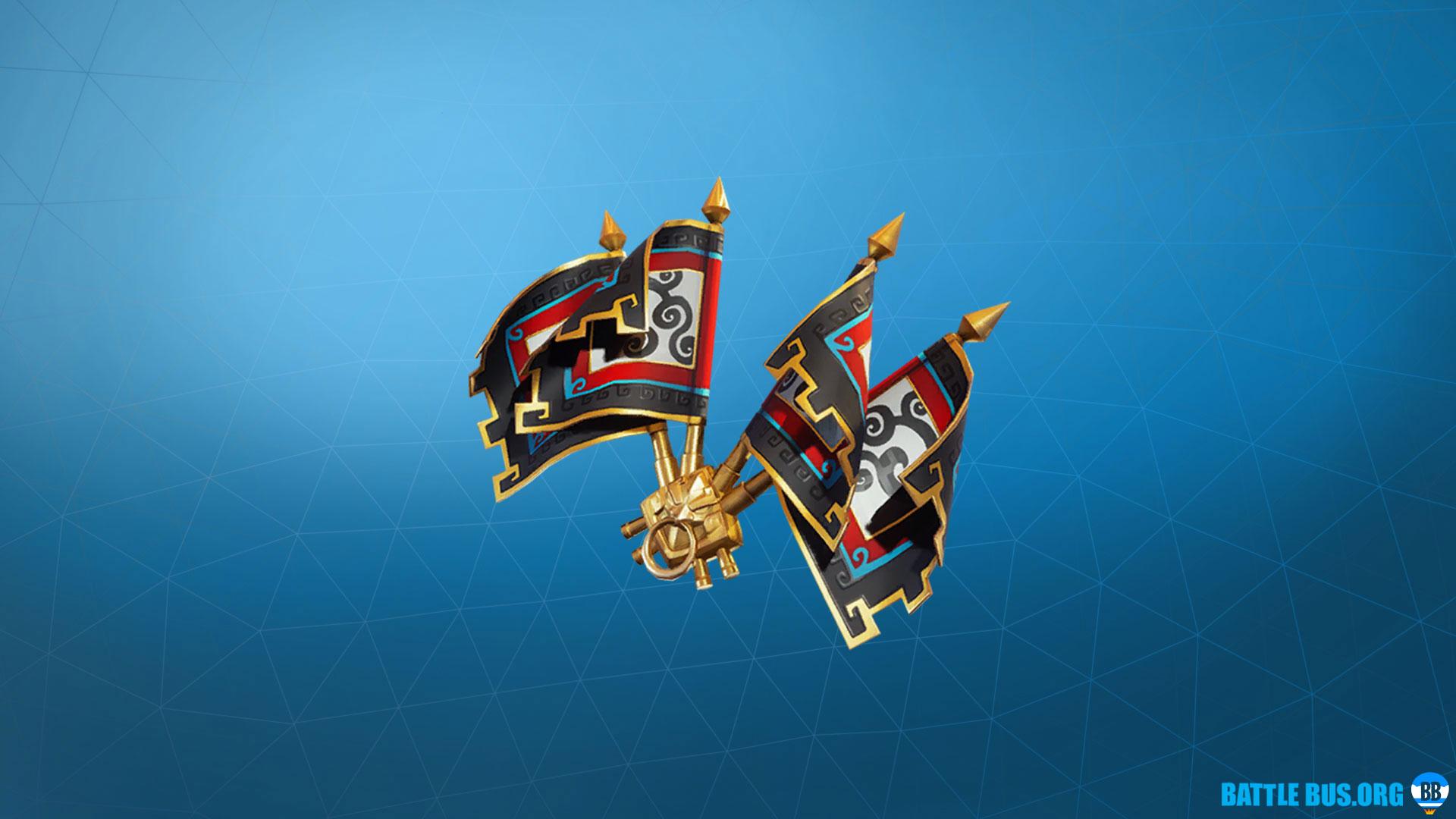 Royale Flags Wukong Back Bling Fortnite