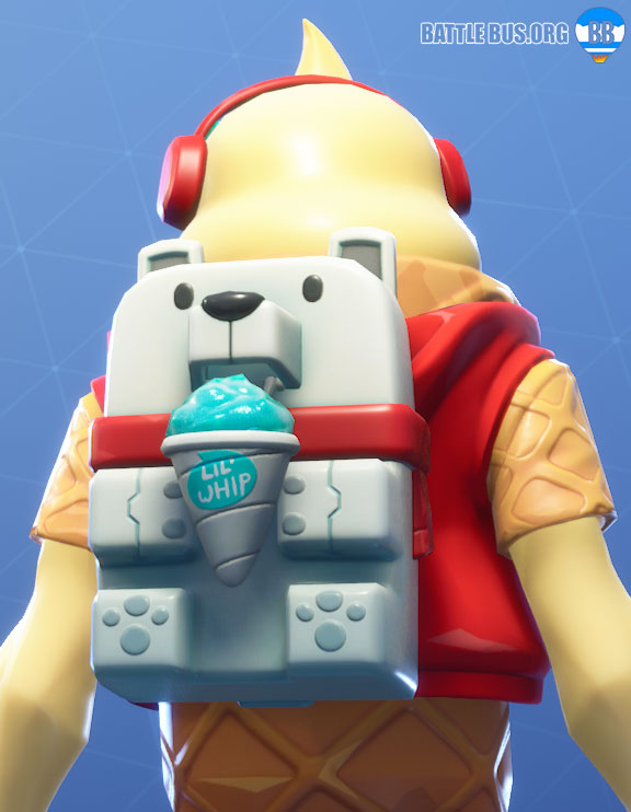 Sno Cone Lil Whip Back Bling Fortnite Two Scoops Set