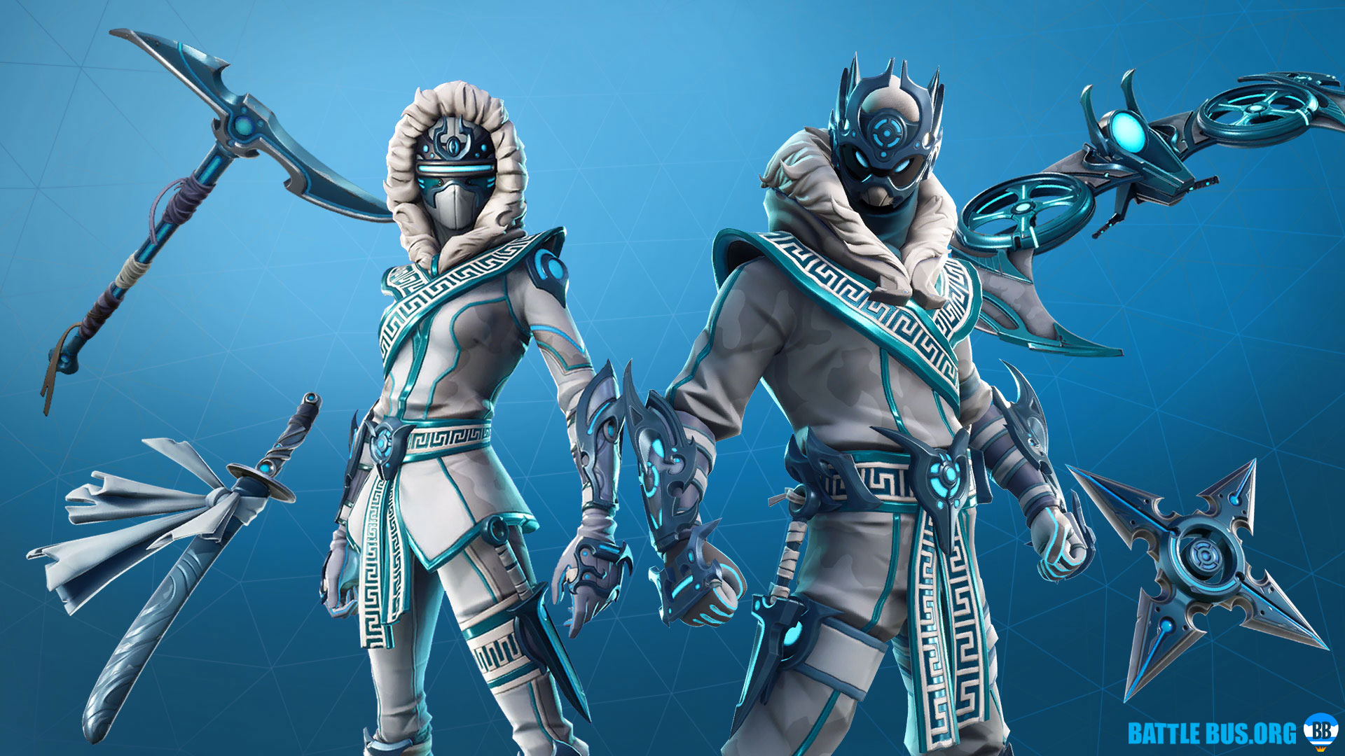 Snow Clan Set Snowfoot Snowstrike Fortnite