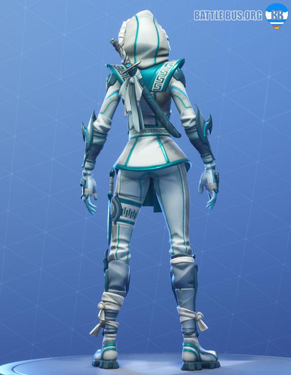 Snowbrand Back Bling Snowstrike Fortnite Snow Clan