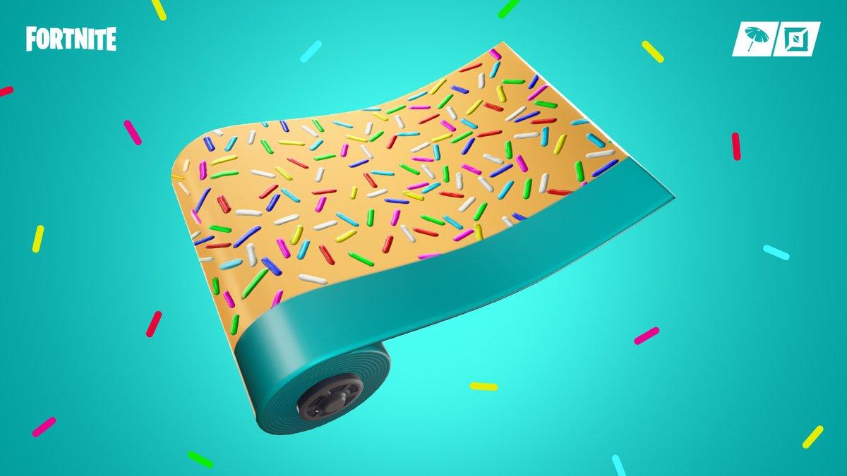 Sprinkles Fortnite Wrap Two Scoops