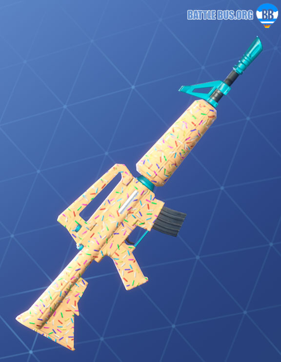 Sprinkles Wrap Assault Rifle Fortnite Two Scoops