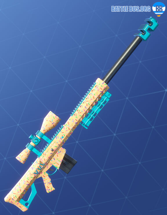 Sprinkles Wrap Fortnite Two Scoops Set Sniper