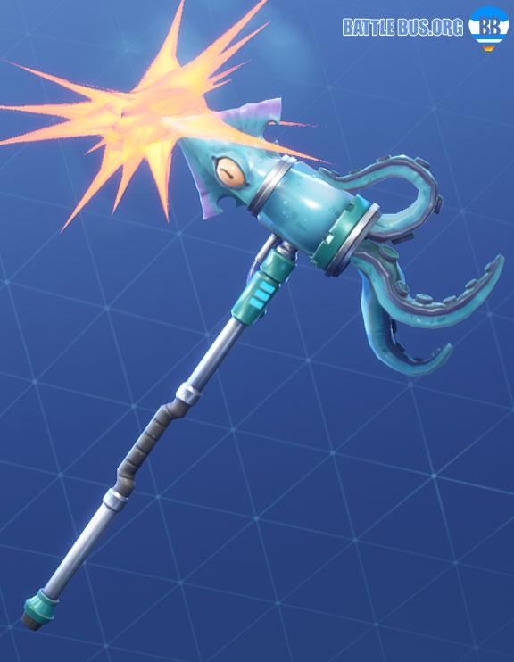 Squid Striker Pickaxe Fortnite Deep Sea Set