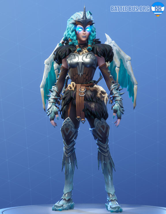 Valkyrie Outfit Wings Back Bling Fortnite Harbinger Set