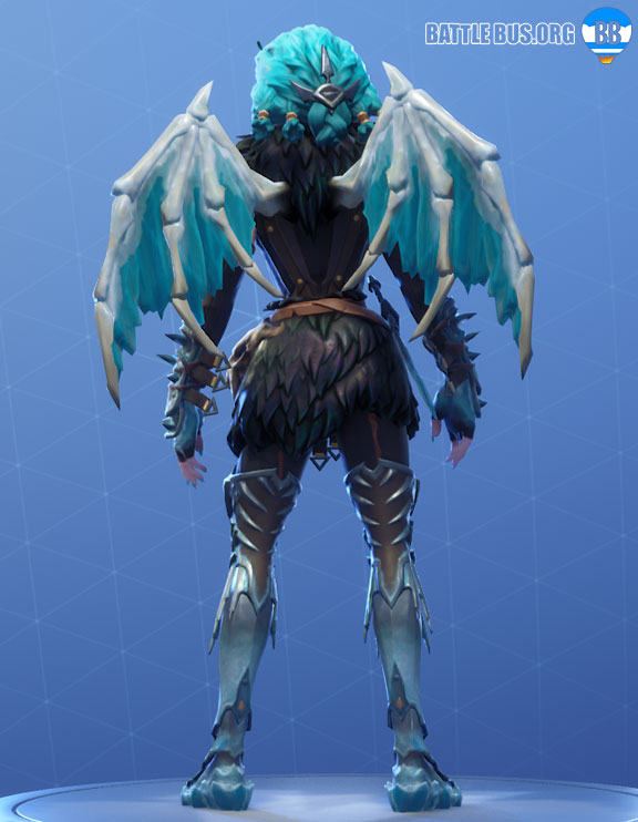 Valkyrie Wings Back Bling Fortnite Harbinger Set