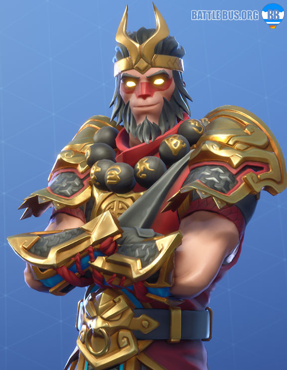 Wukong Outfit Fortnite Monkey King