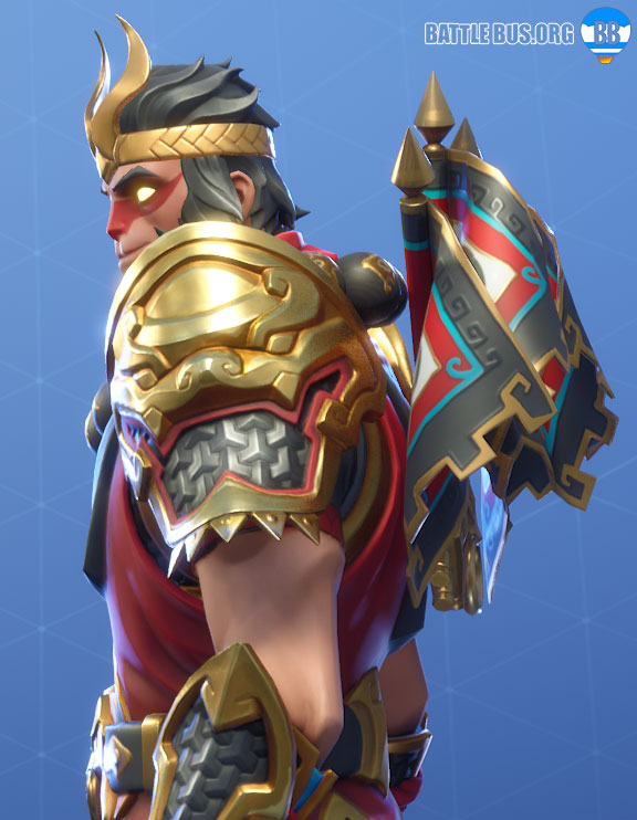 Royale Flags Wukong Back Bling Fortnite