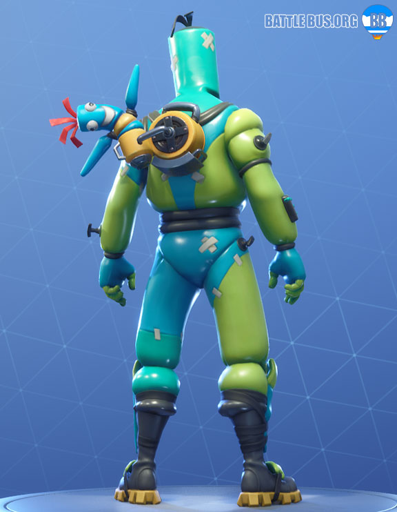 Bendie Inflator Back Bling Fortnite Hot Air Set
