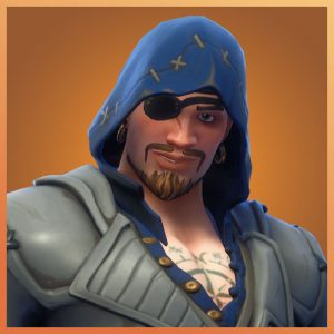 Blackheart Blue Color Scallywags Set Fortnite