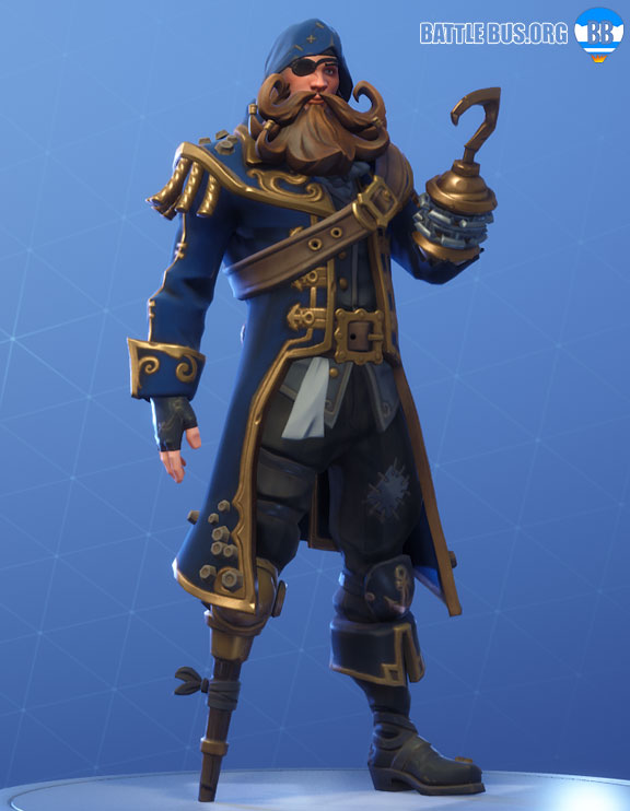Blackheart Fortnite Blue Outfit Scallywags Set Stage 3