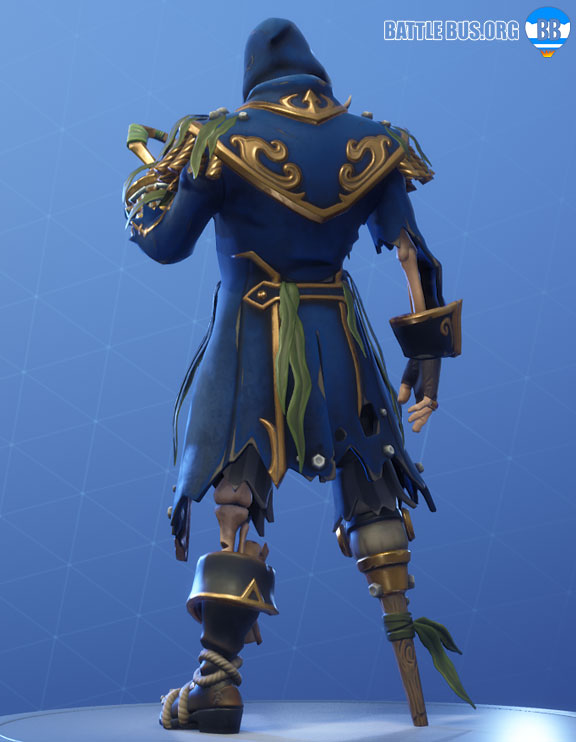 Blackheart Fortnite outfit BLue Stage 4 Scallywags set