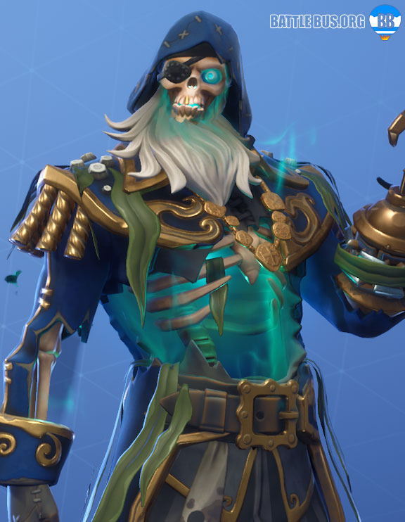 Blackheart Fortnite Blue Outfit Scallywags Set Stage 5