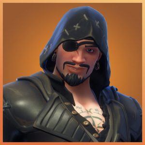Blackheart Black Color Scallywags Set Fortnite