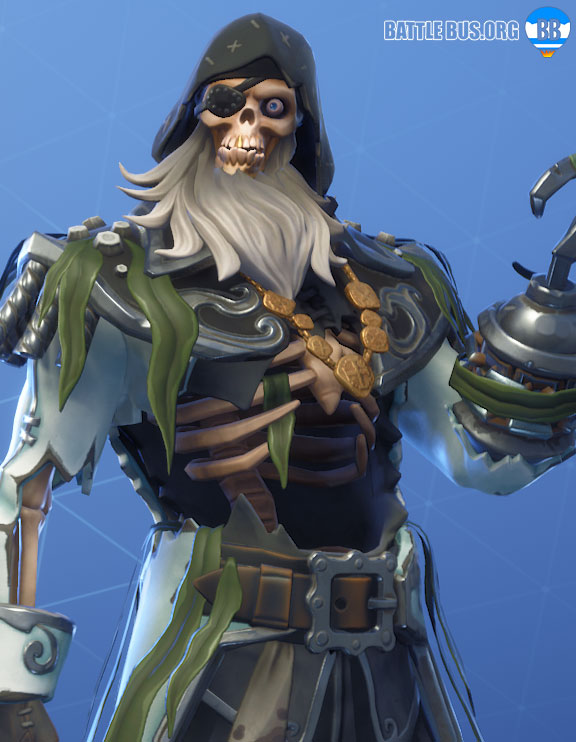 Blackheart Fortnite outfit White Stage 4 Scallywags set