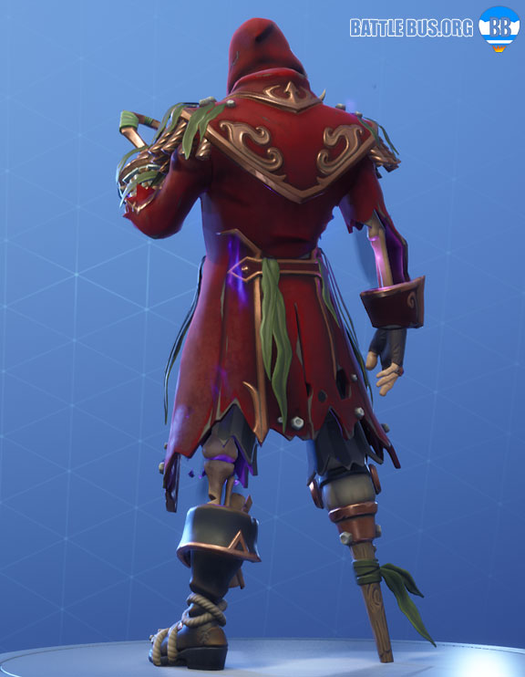Blackheart Fortnite Red Outfit Scallywags Set Stage 7