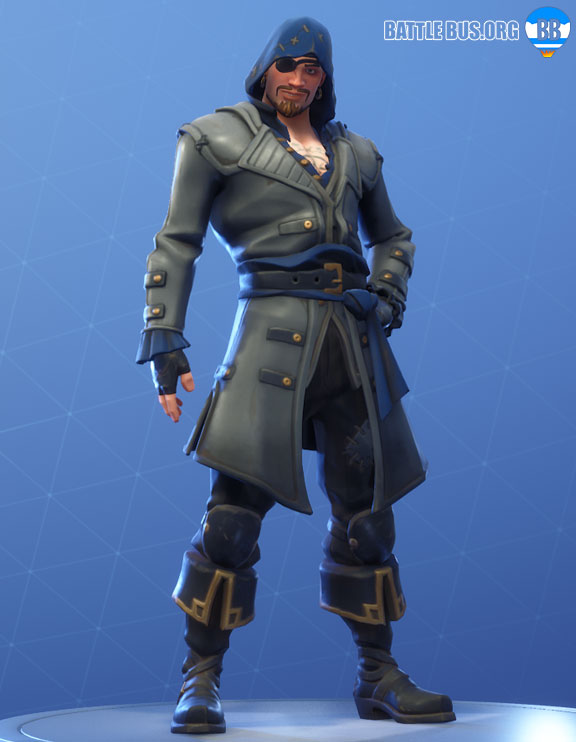 Blackheart Fortnite Blue Outfit Scallywags Set