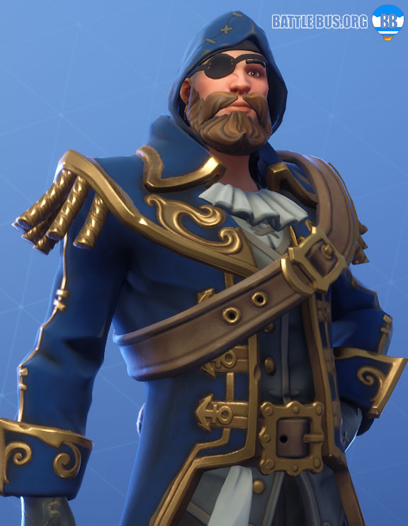Blackheart Outfit Blue Fortnite Scallywags Set Stage 2