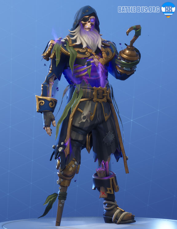 Blackheart Fortnite Blue Outfit Scallywags Set Stage 7